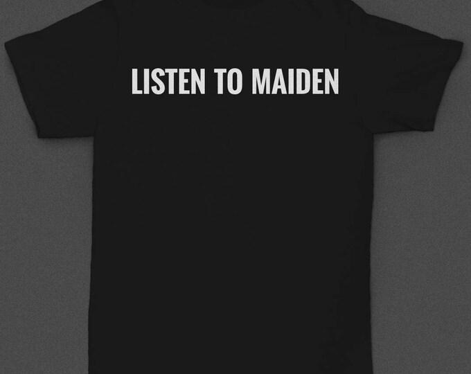 """Motorhead """"Listen to Maiden"""" - Tshirt"""