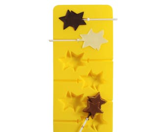 Mason Cash Stars Chocolate Sweet Jelly Silicone Lollypop Mould  Lollipop