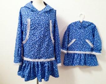 Matching dresses matching Kuspuk matching mommy and daughter alaska kuspuk