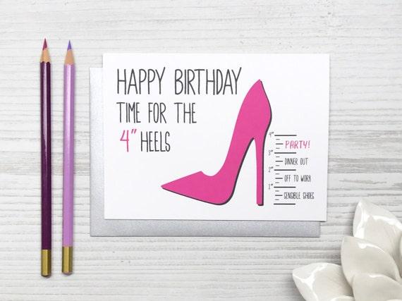 Funny Birthday Card Funny Birthday Card For Her Friend
