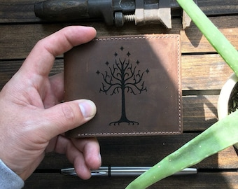 White Tree of Gondor Leather Wallet