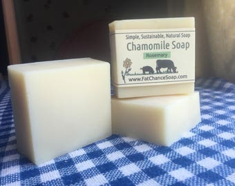 Chamomile and Rosemary Soap
