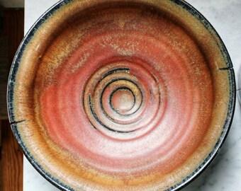 Decorative Bowl -Rustic Farmhouse Kitchen - Rustic Pottery - Fruit Bowl - Centerpiece Bowl - Handmade Bowl