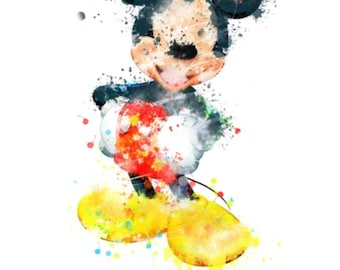 Watercolor Mouse