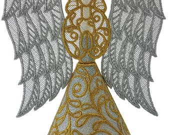 Angel - Free Standing Lace - 3 Dimensional - MADE TO ORDER