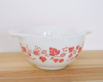 Pyrex Pink Gooseberry 441 - Cinderella Bowl, Nested Bowl (Smallest) - I have 442 and 444 Also