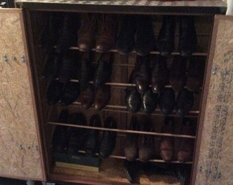 Industrial Shoe cabinet