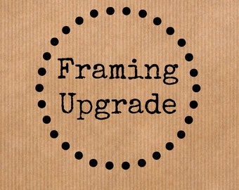 Framing Upgrade for Literary Prints