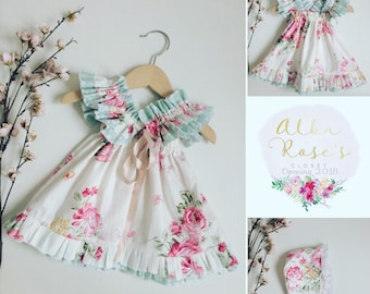 Vintage style baby doll dress