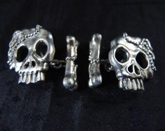 Cufflinks Samurai 925 Sterling silver