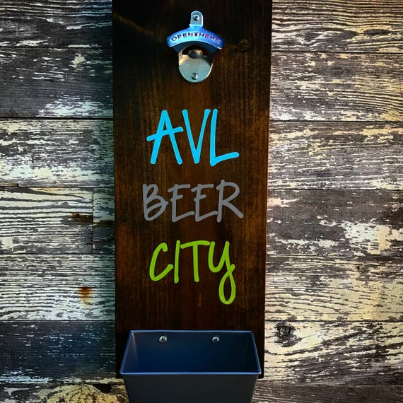 Custom City Wall Mounted Bottle Opener.