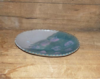 Hand Thrown Large Pottery  Plate Tray - 1749