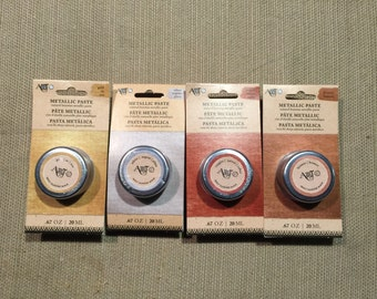 ART Metallic Paste - 4 - .67oz Jars - Different Colors