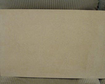 "Rectangle Unfinished Mosaic Base or Craft Shape 20"" x 12"" Choose Your Thickness"