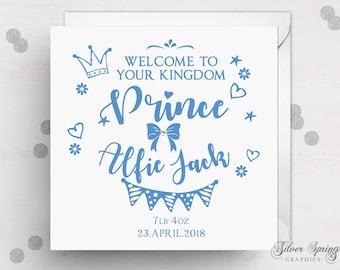 Prince Baby Boy Card