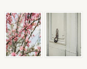 "Versailles, France Travel Photography, ""Lovely Little Details"", Set of 2 Fine Art Prints, Gallery Wall, Home Decor, Gift"