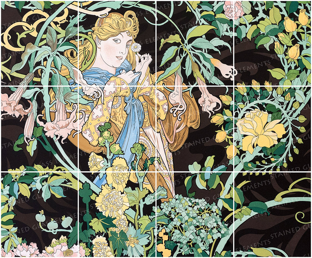 Mucha ceramic decals glass tiles ceramic tiles glass murals mucha ceramic decals glass tiles ceramic tiles glass murals mucha murals mosaic supplies glass tiles art nouveau ceramic decals tile dailygadgetfo Choice Image