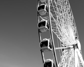 Black & White Ferris Wheel (prints)