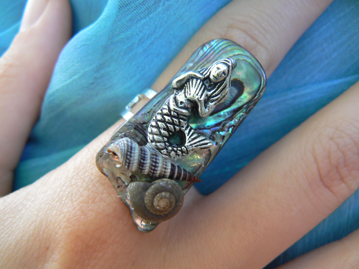 band dp paua amazon sterling shell silver ring eternity inlay l rings abalone jewelry size com