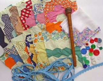 inspiration kit No030 - colorful quilts