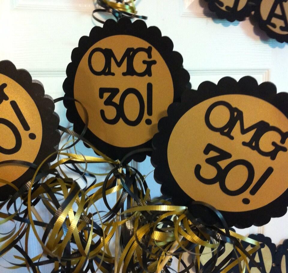 30th Birthday Decorations