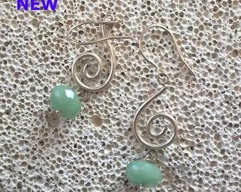 Spirals with Jade
