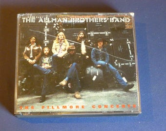 The Allman Brothers Band The Fillmore Concerts Double CD 314 517 294-2 Polydor 1992