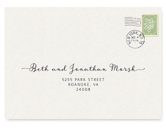 Mesmerizing image for printable envelope address template