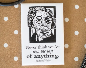 Eudora Welty Literary Kitchen Magnet