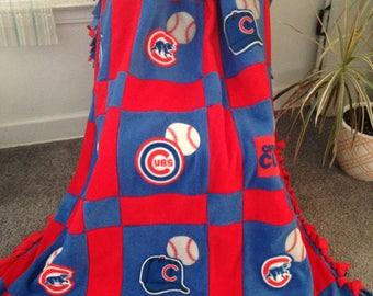 CHICAGO CUBS Fleece Blanket