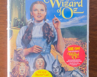 Unopened 1996 Copy of The Wizard of Oz on VHS