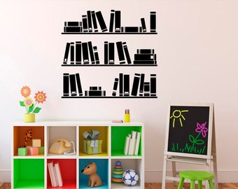 HICBOX 3D Creative Books DIY Refurbished Stairs Stickers Removable  Waterproof Stairs Mural 100CMx18CM x 6pieces(