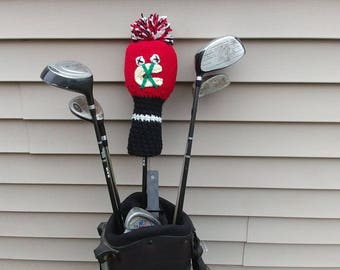 ALREADY MADE -- Chicago Blackhawks Golf Club Cover! Support your favorite hockey team with this sporty golf club cover! Go Hawks!