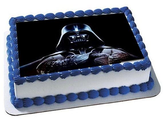 Darth Vader cake topper Star Wars cake topper Star Wars