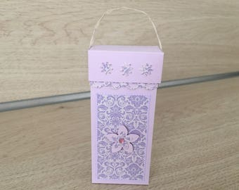 Gift wrap with shower gel