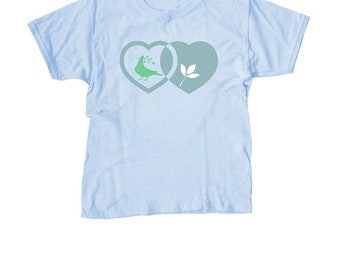 Peace, Love, Green Living t-shirt