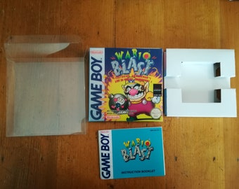 "Complete package ""WARIO BLAST"" Game boy - English"