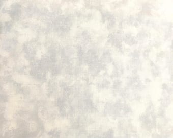 "Marbles Pastel Grey 9859 12 Moda, End Bolt 20"" (1/2 yard plus 2"") Premium Quilt Fabric"