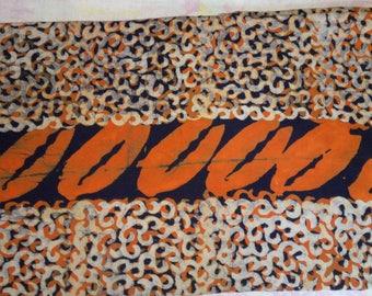 G 011 - genuine Batik handmade Ghana
