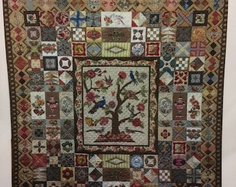 Megan Carroll 2013 WORTHING DOWNS quilt new unused pattern imported