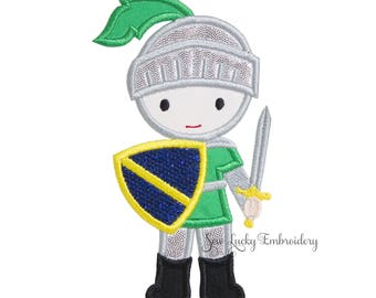 Knight Applique Embroidered Patch, Iron or sew on