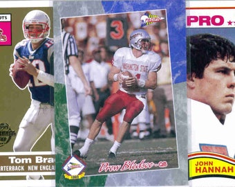 NEW ENGLAND PATRIOTS Football Team Lot - 200 Assorted Cards