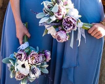 Lavender Dream Silk Flower Bouquet