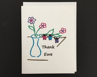 Thank You Card / Thank Ewe