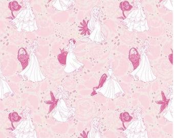 Camelot - Princess Icon - Disney - Character - Princesses - Snow White - Ariel - Rapunzel - Belle - Aurora - Cinderella - Pink