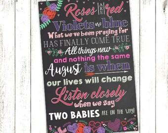 Digital Pregnancy Announcement,pregnancy,digital,instant,printable,kids,mom,new mom,mothers,mother,child,birth,announcements,announcement