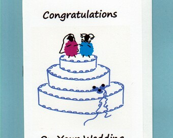 Wedding Card / Congratulations on your Wedding