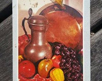 vintage deck of Playing Cards  Kitchen still life Sealed