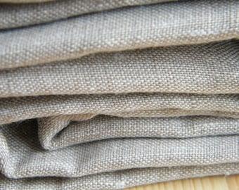 Natural Linen Queen size duvet cover + 2 Queen size pillowcases - Natural Linen bedding. Leinen, Lin, Huopa.