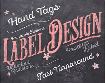Label Design, Hand Tags Design, Packaging Design, Custom Labels, Custom Hand Tags